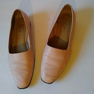 Life Stride Studio pink leather loafers-sz 8 1/2M
